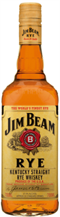 Jim Beam Rye Whiskey 1.00l